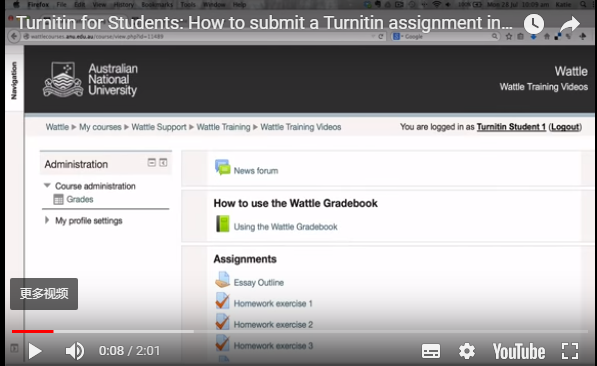 what is turnitin and how does it work